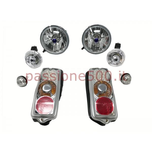 SPORTIVE H4 / LED LAMPS KIT FIAT 500 F L R