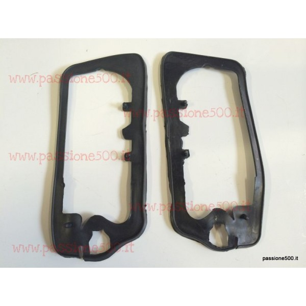 PAIR OF GASKET FOR TAIL LAMPS FIAT 500 F L R