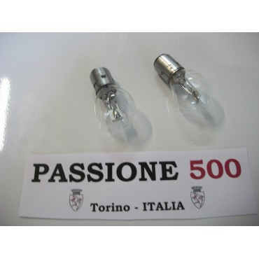 COUPLE OF BULBS 12V 45/40W FOR HEADLAMPS FIAT 500 N D