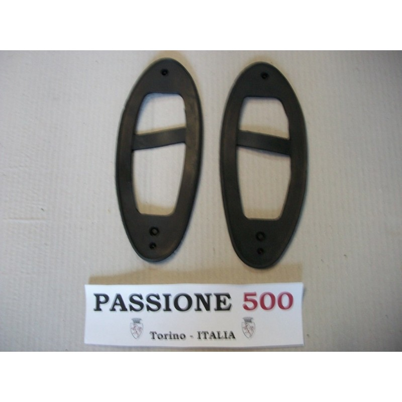 COUPLE OF GASKET FOR REAR TAIL LAMPS FIAT 500 N