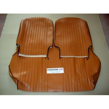 COMPLETE BROWN SEAT COVERS FIAT 500 L