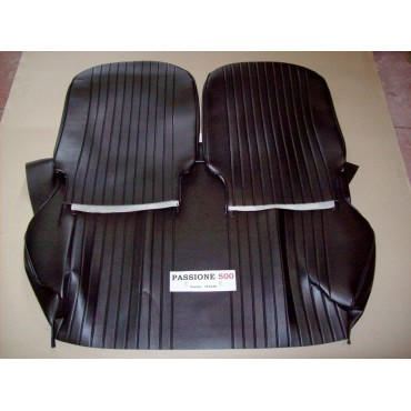 COMPLETE BLACK SEAT COVERS FIAT 500 L