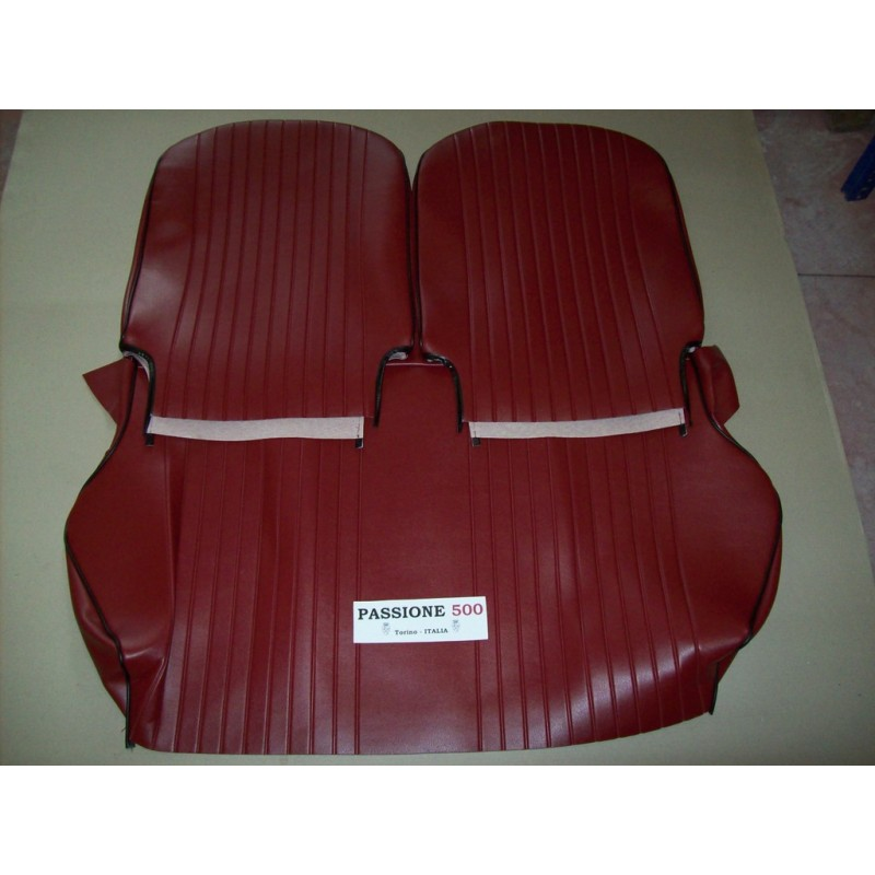 COMPLETE BORDEAUX SEAT COVERS FIAT 500 L