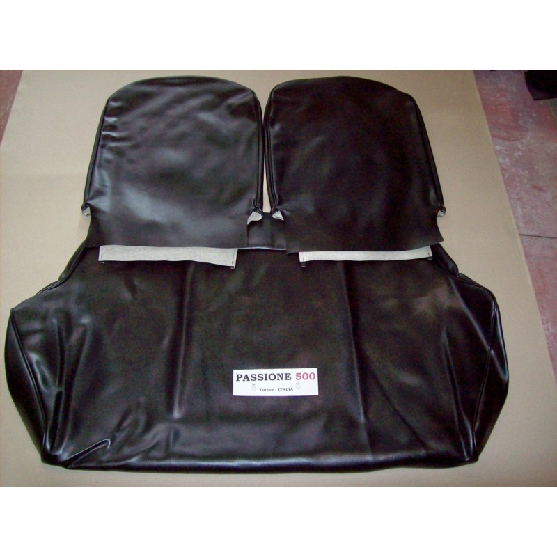 COMPLETE BLACK SEAT COVERS FIAT 500 R