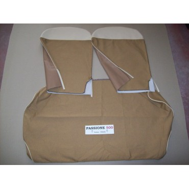 COMPLETE BEIGE SEAT COVERS FIAT 500 N