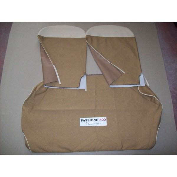 COMPLETE BROWN SEAT COVERS FIAT 500 D 1° SERIES