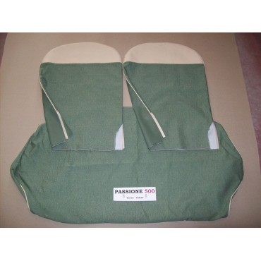 COMPLETE GREEN SEAT COVERS FIAT 500 D 1° SERIES