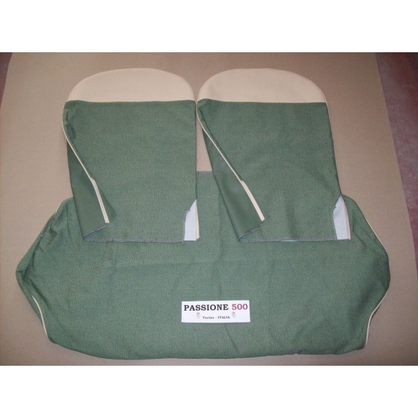 COMPLETE GREEN SEAT COVERS FIAT 500 N