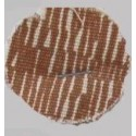 COMPLETE BROWN STRIPED SEAT COVERS FIAT 500 F until 1968