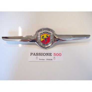 ABARTH FRONT EMBLEME IN CHROMED METAL FIAT 500 D F