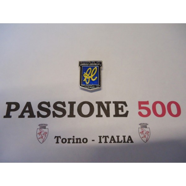 EMBLEME FOR FRONT PANEL FIAT 500 FRANCIS LOMBARDI