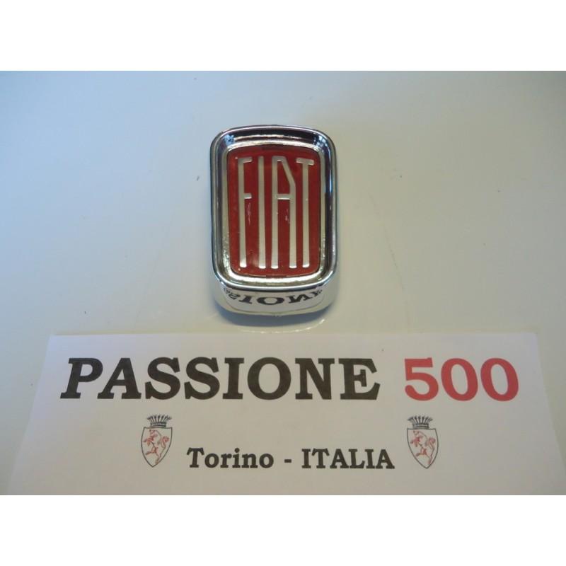 CHROMED PLASTIC FRONT EMBLEM FIAT 500 L