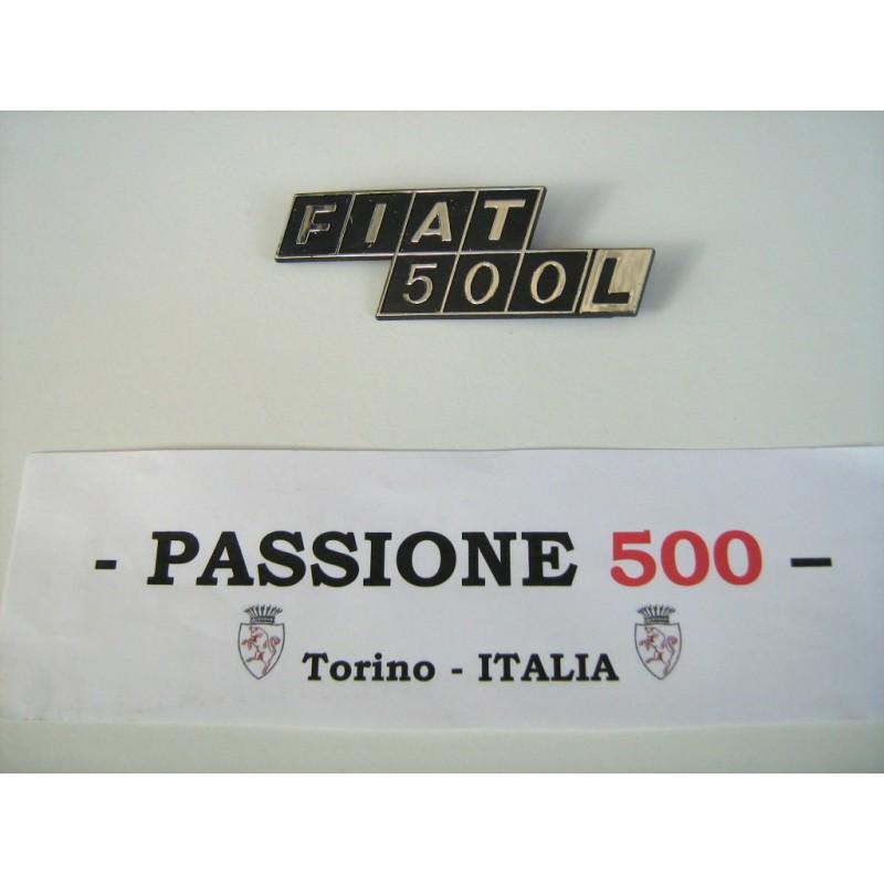 REAR EMBLEM IN PLASTIC FIAT 500 L