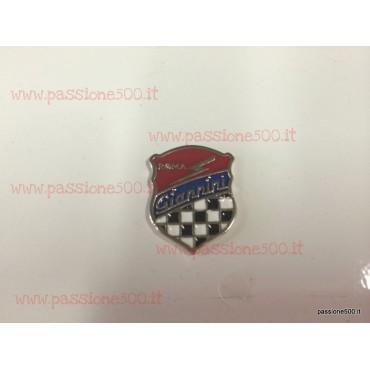 GIANNINI EMBLEM FOR SIDE PARTS - dim. 20 x 26 mm - FIAT 500