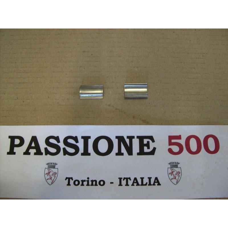 2 CLIPS FOR CHROMED TRIM OF WINDSHIELD GASKET FIAT 500 L