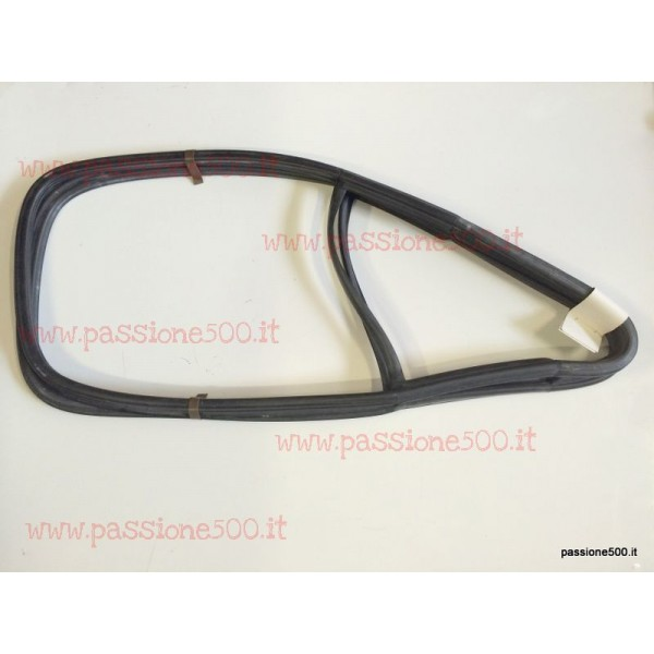 PAIR OF GASKET FOR FIXED DOOR GLASS AND QUARTER VENT FIAT 500 N - fixed glasses