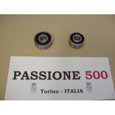 COUPLE OF BEARINGS FOR GENERATOR FIAT 500 GIARDINIERA