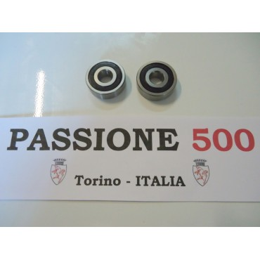 COUPLE OF BEARINGS FOR GENERATOR FIAT 500 N D F L R