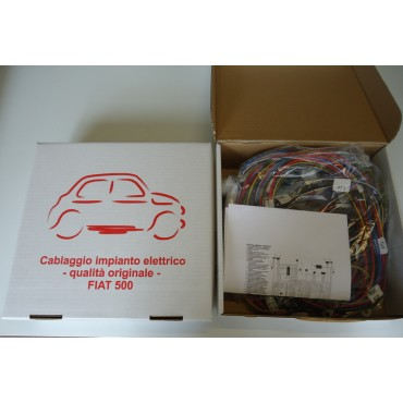 HIGH QUALITY ELECTRICAL WIRING - FIAT 500 D