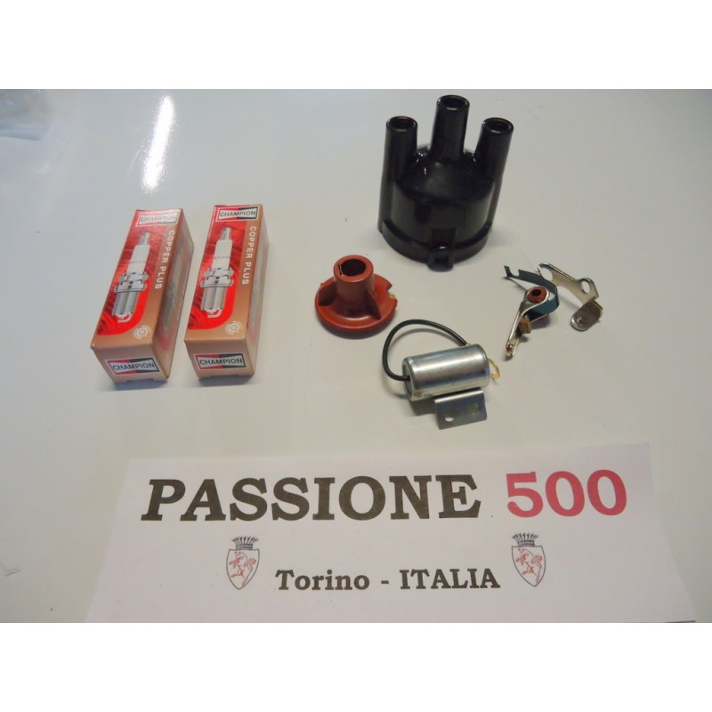 KIT OF DISTRIBUTOR SPARE PARTS FIAT 500 R - 126