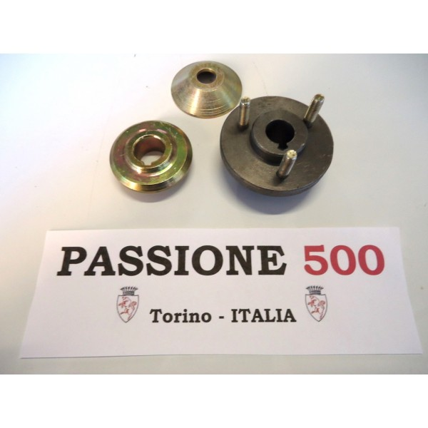 HUB AND SPACERS KIT FOR ALTERNATOR FIAT 500 / 126