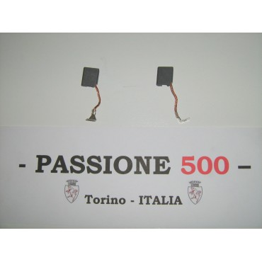 COUPLE OF BRUSH FOR GENERATOR FIAT 500 F L R