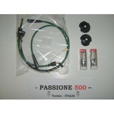 SPARK PLUG CABLE KIT FIAT 500 N D F - COIL LEFT SIDE