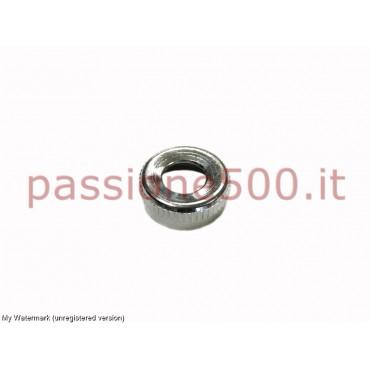 CHROMED RING FOR ENGINE STARTING SWITCH FIAT 500 N D F