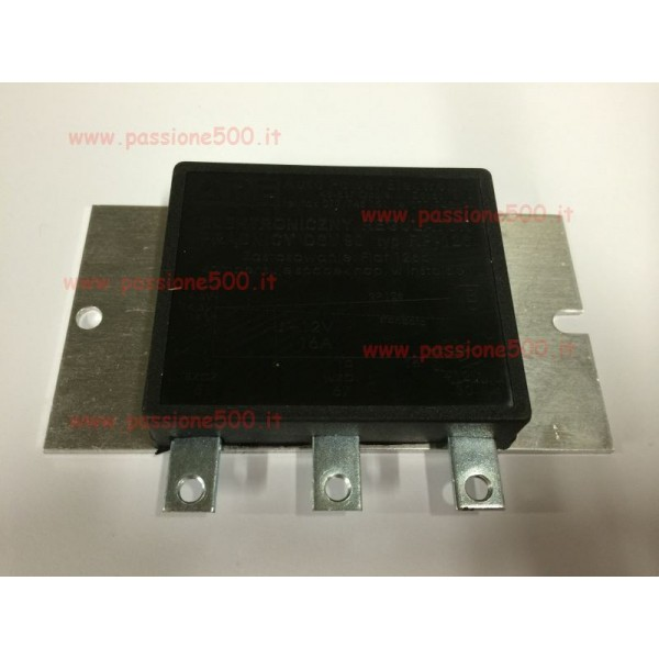 ELECTRONIC VOLTAGE REGULATOR FIAT 500 / 126