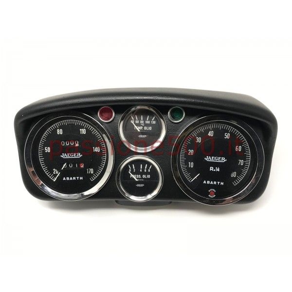 SPORTIVE SPEEDOMETER TYPE ORIGINAL ABARTH FIAT 500