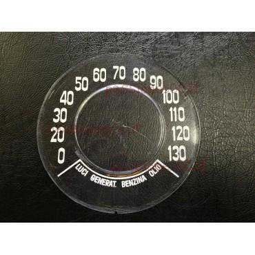 INSTRUMENT CLUSTER GLASS GIANNINI 130 KM/H FIAT 500 F R GIARD