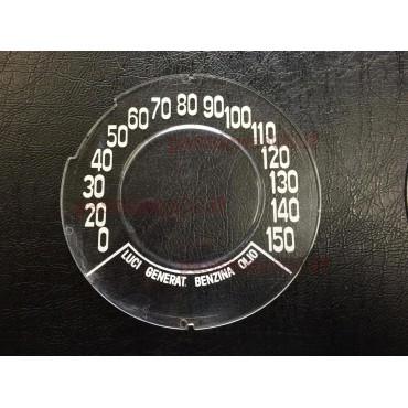 INSTRUMENT CLUSTER GLASS GIANNINI 150 KM/H FIAT 500 F R GIARD