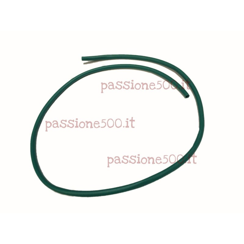 GREEN SHEATH FOR PLATE LAMP CABLE FIAT 500