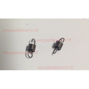 PAIR OF DISTRIBUTOR CONTACT SET SPRINGS FIAT 500 N D F L
