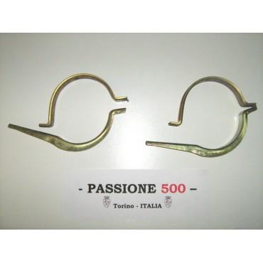 KIT OF MUFFLER BRACKETS FIAT 500 N D F L