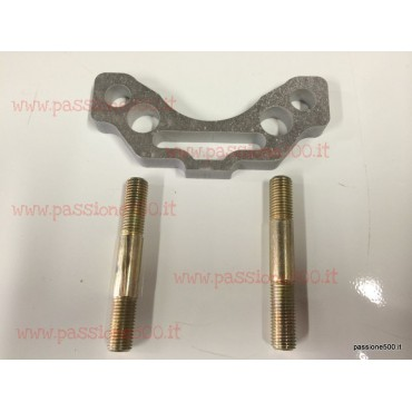 ENGINE SUSPENSION SPACER FOR SPORT MUFFLER MOUNTING FIAT 500 R - 126