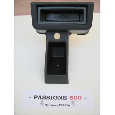 RADIO CONTAINER IN BLACK PLASTIC FOR FIAT 500