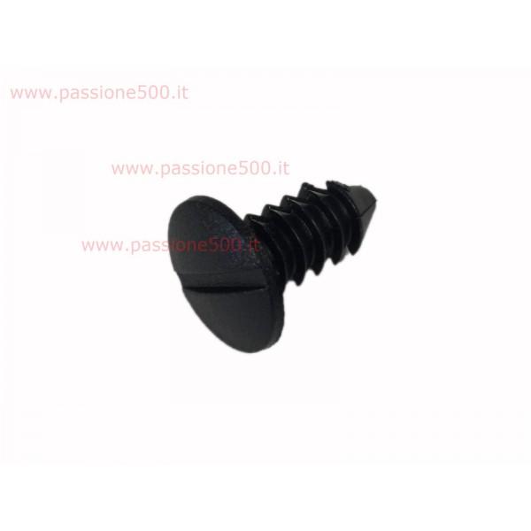 PLUG FOR BLACK SAFETY BELT HOLE FIAT 500