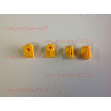 KIT OF 4 CLIPS FOR DOOR POCKETS FIXING FOR FIAT 500 L