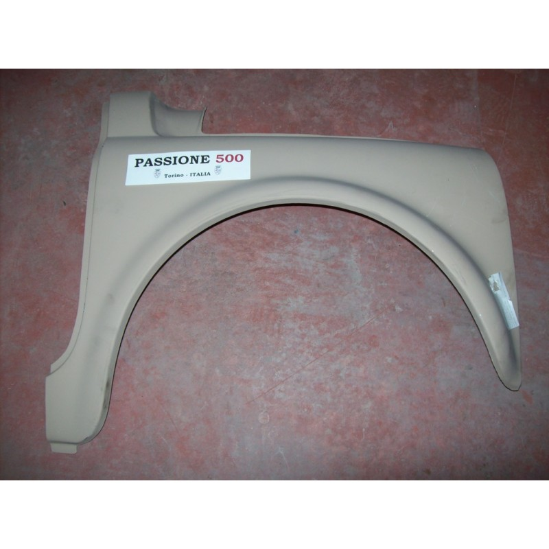 RIGHT FRONT FENDER FOR FIAT 500 N UNTIL 1959