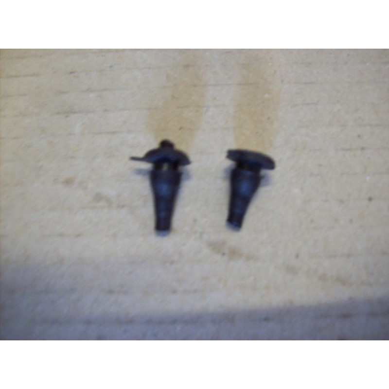 COUPLE OF PIN FOR CAR IDENTIFICATION PLATE FIXING FIAT 500
