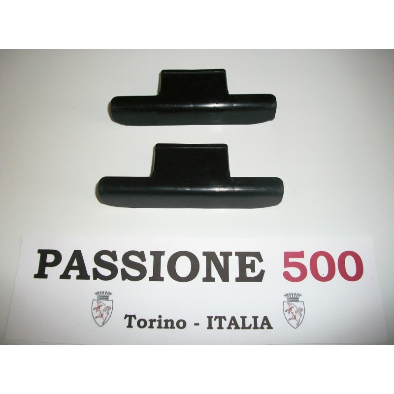 COUPLE OF PLASTIC CAPS FOR  DOOR HINGE FIAT 500 L