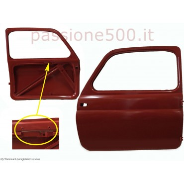 LEFT DOOR FOR FIAT 500 D 1° SERIES - UNTIL CHASSIS No. 341.070