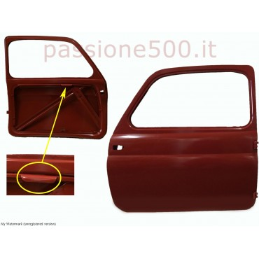 LEFT DOOR FOR FIAT 500 D 2° SERIES - TO CHASSIS No. 341.071