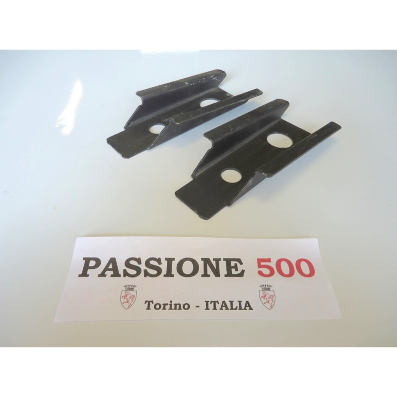 COUPLE OF FRONT LIFTING RAM SUPPORT FOR FIAT 500