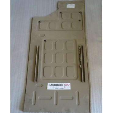 LEFT PLANE FLOOR PANEL FOR FIAT 500 N (1957-1959)