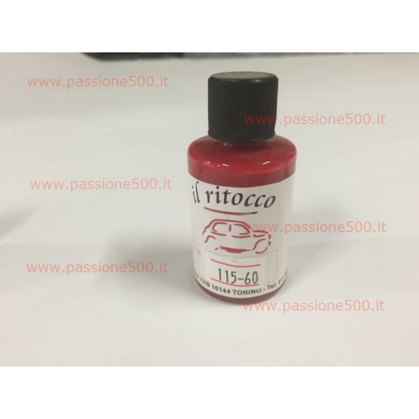 "BODYPAINT FOR RETOUCHING 30 ml - COLOR  FIAT no. 115 "" ROSSO MEDIO """