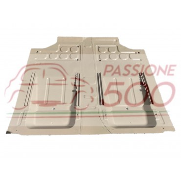 COMPLETE REINFORCED FLOOR PANEL - LEFT + RIGHT - FOR FIAT 500 N D F L R