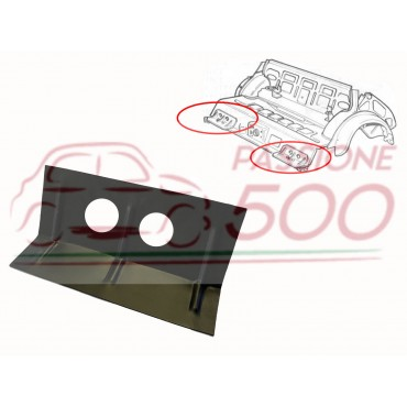 REINFORCEMENT PLATE ON THE FLOOR PAN FOR REAR ARM FIXING FIAT 500