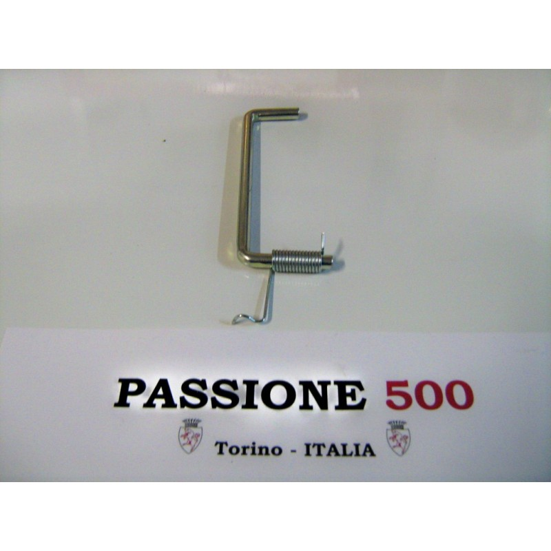 SPRING WITH BRACKET FOR TRUNK LID FIAT 500